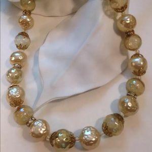 Vintage Soap Bubble Necklace Estate Piece